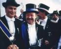 Der Langeneicker König Rehkemper und der Störmeder König Berthold Lammert kommen in das Finale