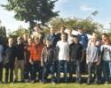 Gruppenfoto der Teilnehmer am ersten Jungschützenschiess-Turnier