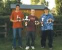 Die drei erstplazierten Schützen v.l.: Franz Hagen, Daniel Pott, Manuel Lüke