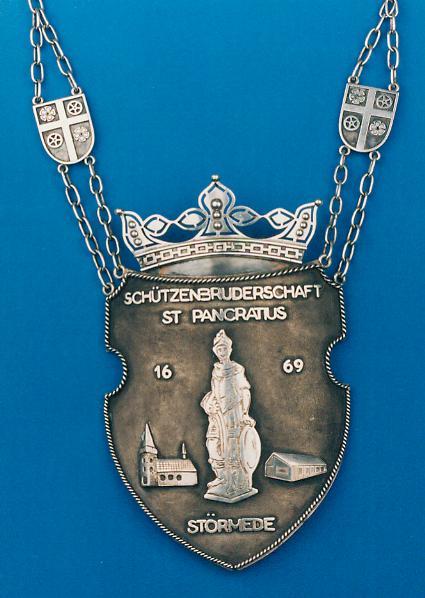 Königsschild von 1982, das der König bei den meisten Anlässen trägt