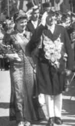 Friederich Hansjürgens (†) und Auguste Hansjürgens (†)