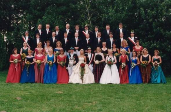1996 Hofstaat