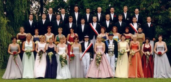 2001 Hofstaat