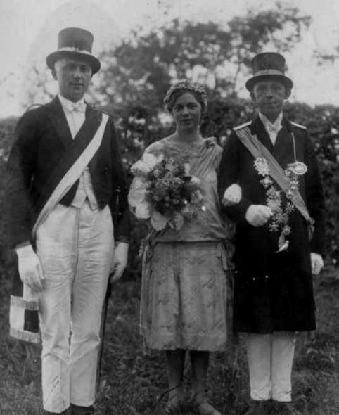 1926 Franziska Pohle und August Gockel-Röttgen