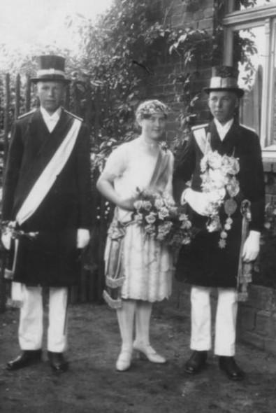 1927 Bernadine Kemper-Wieneke und Anton Gockel-Böhner