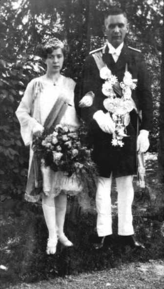 1928 Maria Simon und Josef Lehmenkühler