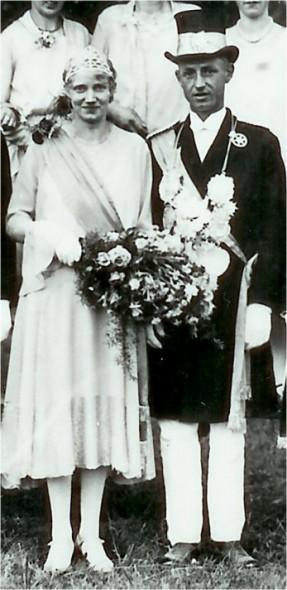 1929 Anna Stemmer und Johannes Deiters