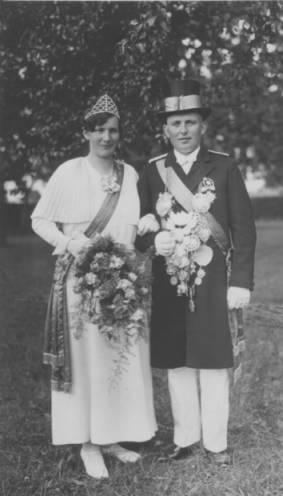 1932 Berta Simon-Marksmeier und Ignatz Simon
