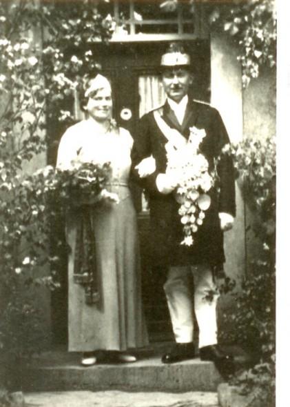 1933 Änne Abel und Ignatz Langehans