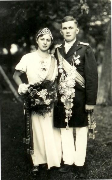1935 Anna Kölling und Anton Jütte