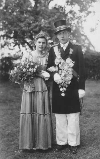 1950 Elfriede Rauch und Adam Kemper-Schmidtkasper