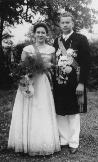 1956 Franziska und Franz Harrenkamp