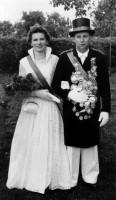 1957 Maria Schweins und Konrad Reitemeier