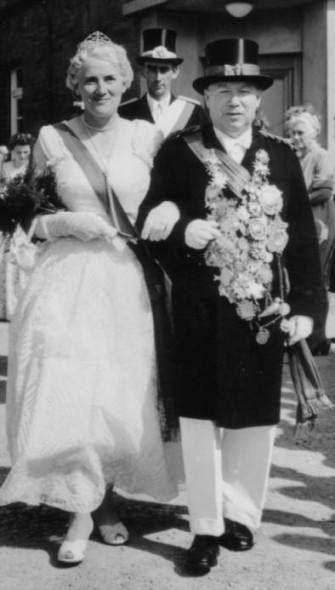 1958 Auguste Hansjürgens und Josef Mißmahl