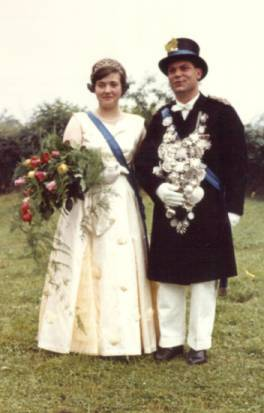 1961 Maria Harrenkamp-Wilmes und Hubert Maas