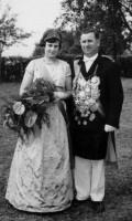 1963 Berta Struwe und Franz Brüggemeier