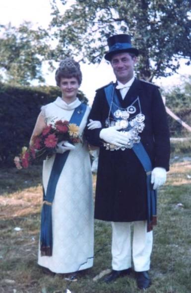 1970 Wilhelmine Sommer und Friedrich Hansjürgens